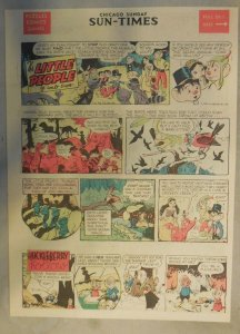 The Little People Sunday by Walt Scott from 6/9/1957 Tabloid Page Size!