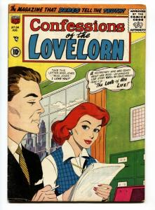 Confessions of The Lovelorn #84 1957-ACG Romance comic- FN