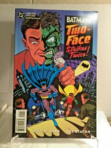 Batman Two-Face Strikes Twice #1 TPB Book One (Part One and Two) 1993 DC Comic