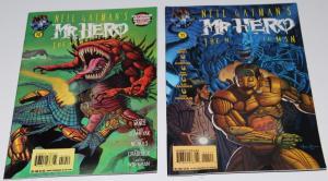 Neil Gaiman's MR. HERO the Newmatic Man  #10,11 - Tekno Comics ~VF/NM (HX202)