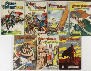 Prince Valiant Hastings House Volume 1 2 3 4 5 6 7 All W/ Dust Jacket