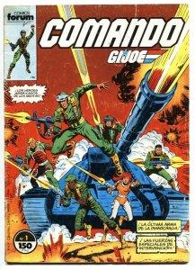 Comando G.I. JOE #1 1987 Spanish edition-Marvel 1st issue