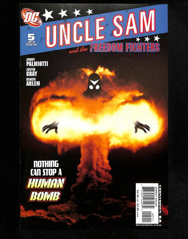 Uncle Sam and the Freedom Fighters #5 (2008)