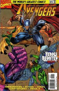 Avengers (Vol. 2) #12 VF/NM; Marvel | save on shipping - details inside