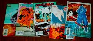 Nextwave  : Agents of H.A.T.E.  #4,8-10,12 (set of 5)