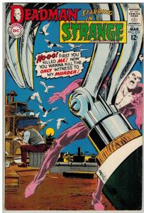 STRANGE ADVENTURES 210 VG Mar. 1968  ADAMS DEADMAN