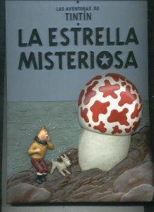 Tintin la estrella misteriosa, album de resina