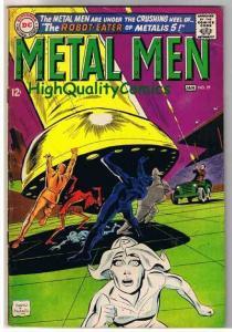 METAL MEN #29, VG+, Gold, Lead, Platinum, Robots, Andru, 1963