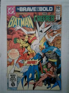 Brave and the Bold #178 FN BATMAN CREEPER