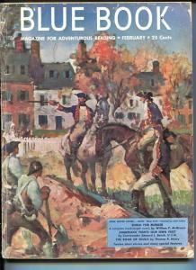 BLUE BOOK PULP-FEBRUARY 1951-G/VG-FULTON COVER-MCGIVERN-BEACH,JR.-HENRY-NEW G/VG