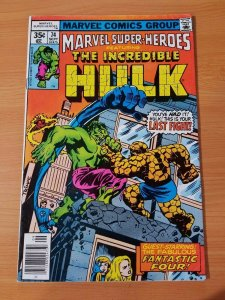 Marvel Super-Heroes #74 ~ VERY FINE VF ~ (1978, Marvel Comics)