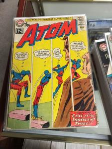 The Atom 4-38 And Hawkman 39-45 (missing Only 1 2 3) All 2.0-4.0 Good-very Good