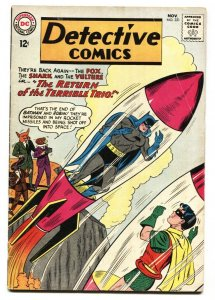 Detective #321 DC Comics -2nd appearance of Terrible Trio 1963