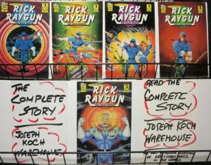 ADVENTURES OF RICK RAYGUN  (1986-1987 STOP DRAGON) 1-5