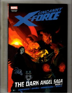 Uncanny X-Force The Dark Angel Saga Book 2 Marvel Comics HARDCOVER X-Men X23 HR8