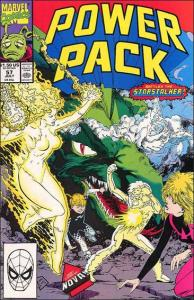 Marvel POWER PACK (1984 Series) #57 VF+