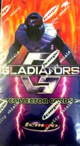 GLADIATORS -  NEW Tempo Trading Cards Factory Sealed Box