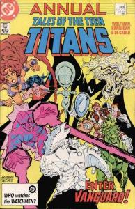 Tales of the Teen Titans Annual #4, VF (Stock photo)