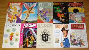 Ragmop #1-10 VF/NM complete series - rob walton - all 1st prints - planet lucy