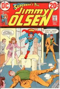 JIMMY OLSEN 153 VF Oct. 1972 COMICS BOOK