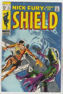 Nick Fury Agent of S.H.I.E.L.D. #11 (Apr-69) NM/NM- Hgh-Grade Nick Fury, S.H....