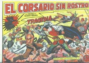 El Corsario sin Rostro, facsimil numero 06: Tragedia