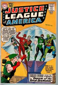 JUSTICE LEAGUE OF AMERICA #4-SUPERMAN-GREEN L-FLASH-WONDER WOMAN-BATMAN-19 VF