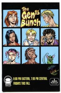 Gen 13 #1 1995 Variant-Brady Bunch homage-comic book