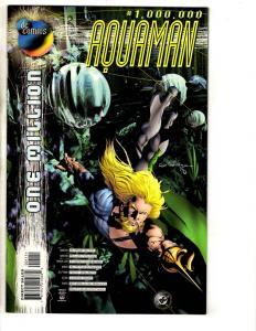 Lot Of 5 Aquaman DC Comic Books One Million + # 51 52 53 54 Batman Flash CR13