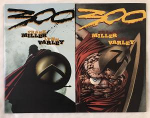 300 - TWO (2) ISSUE LOT - #2 and #3 - Frank Miller - Dark Horse