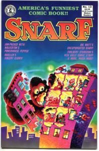 SNARF #13, VF/NM, Wolverton, Joe Matt, 1989, Kitchen Sink, more indies in store