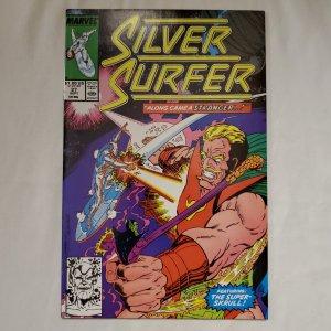 Silver Surfer 27 Near Mint- Art by Tom Christopher