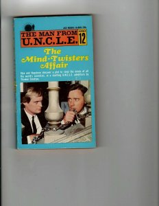 3 Books The Mind-Twisters Affair E Pluribus Unicorn Trial's End Mystery JK13