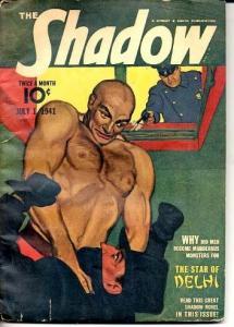 SHADOW PULP-JULY 1, 1941-RARE VG+