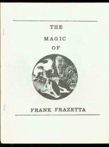 MAGIC OF FRANK FRAZETTA #1 FANZINE-TIKI COVER VF