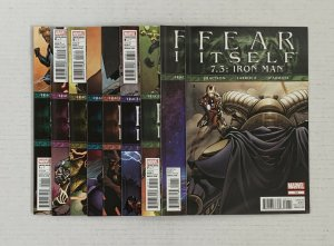 Fear Itself #1-7 +7.2 & 7.3 Complete Series Lot Of 9