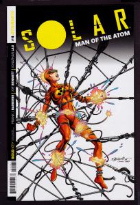 Solar Man of the Atom #4 (2014 Series) Subscription cover  9.6 NM+