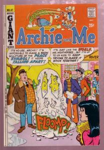 ARCHIE AND ME #47 1971 MR WEATHERBEE SNOWMAN COVER VG
