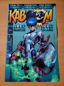 11 x 17 Awesome Comics Kaboom Promo Poster NO PIN HOLES NEW