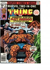 Marvel Two-In-One 37 F   Daredevil!