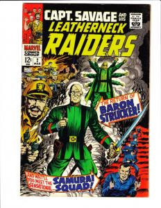Captain Savage and His Leatherneck Raiders #2 (Mar-68) NM- High-Grade Captain...