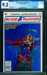 Marvel Super Special #22 Blade Runner CGC 9.2 1982 1240650003