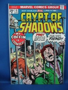 Crypt of Shadows #15 (Jan 1975, Marvel) VF