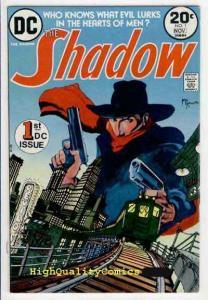 SHADOW #1, VF, Who knows what Evil lurks, Michael Kaluta, 1973