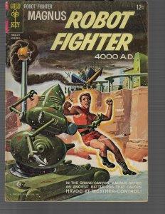 Magnus Robot Fighter #8 (Dell, 1965) VG/FN