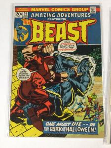 Amazing Adventures 16 17 Fn- Fine- Marvel Bronze Age Beast Stories