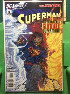 Superman #4 The New 52