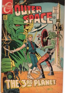 Outer Space Vol 2 Issue #1 November 1968 Steve Ditko interior art