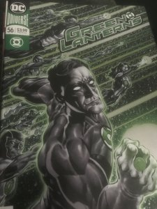DC Green Lanterns #56 Mint Foil Cover