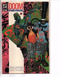 DC Comics Doom Patrol #26 Simon Bisley Cover Grant Morrison Story